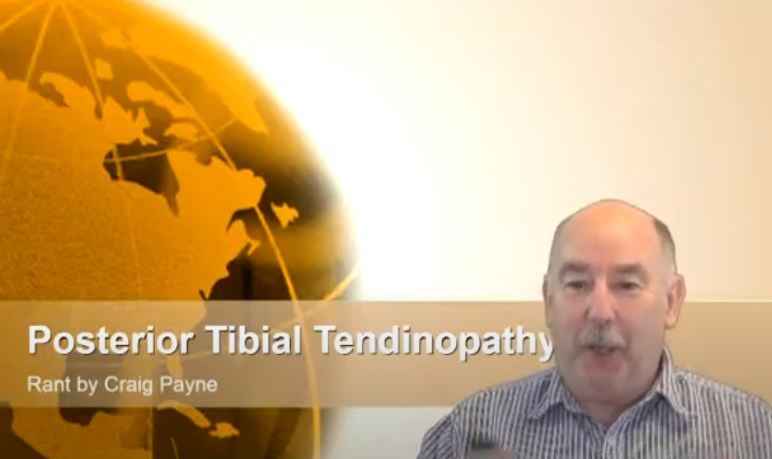 Rant about posterior tibial tendinopathy